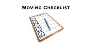 Moving Checklist Covering the Basics